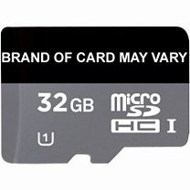 32GB Micro SD Memory Card - Class 10 - Brand of card may vary