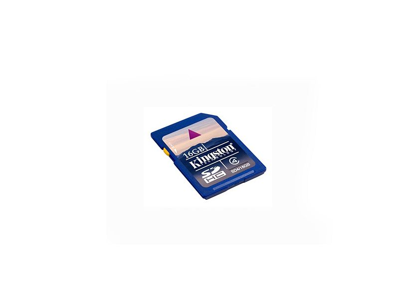 16GB SD Memory Card - Class 10 (Brand of card may vary)