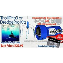 TrollPro3 Underwater Housing Kit