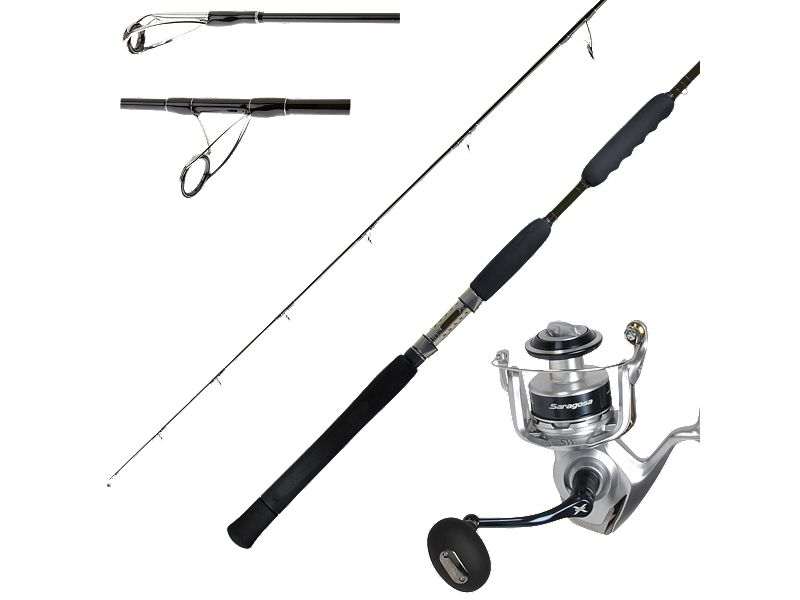 Shimano TZS78H Spinning Rod w/Saragosa SRG10000SW Reel Combo