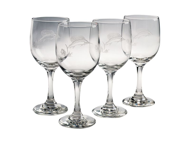 Big Game Wine Glasses