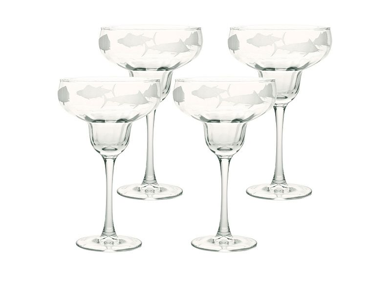 Big Game Margarita Glasses