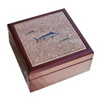 Marlin Tile Jewelry Box
