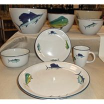 Big Game Offshore Fish Dinner Set