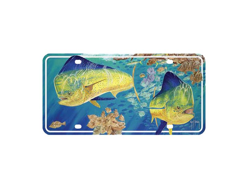 Guy Harvey Dorado License Plate