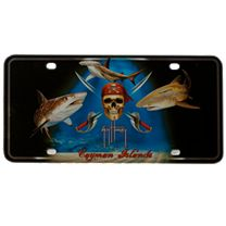 Guy Harvey Pirate Shark License Plate