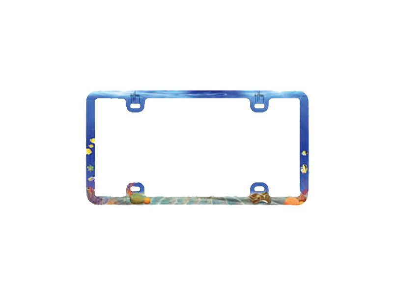 Guy Harvey Underwater Realm License Plate Frame