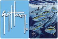 Guy Harvey Tuna Run Greeting Cards