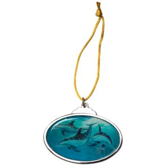 Guy Harvey Dolphins Ornament