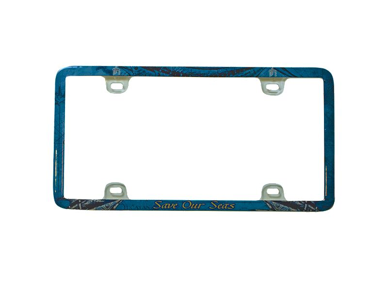 Guy Harvey Save Our Seas License Plate Frame