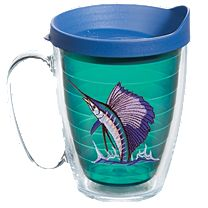 Guy Harvey Jewel Tone Tervis Mugs