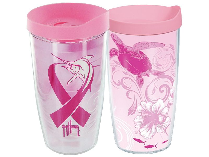 Guy Harvey Pink Ribbon Tervis Tumbler