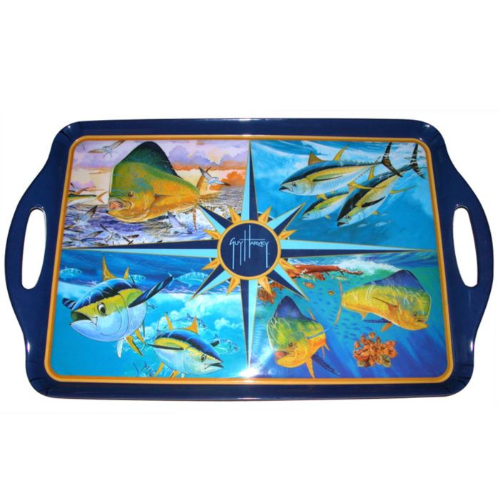 Guy Harvey Tuna/Dorado Serving Tray