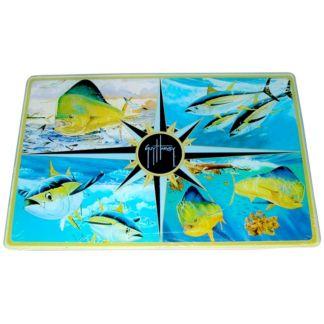 Guy Harvey Tuna/Dorado Cutting Board