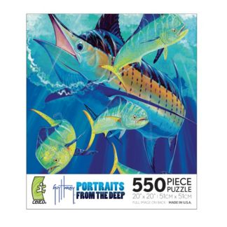 Guy Harvey Portraits of the Deep 550 Piece Puzzle