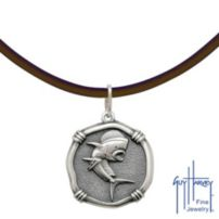 Sterling Silver Dorado Medallion Necklace