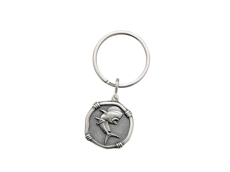 Guy Harvey Sterling Silver Key Chain