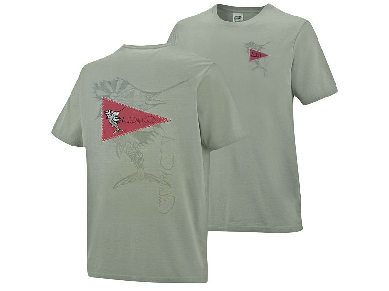 David Wirth Release Sailfish Applique T-Shirt