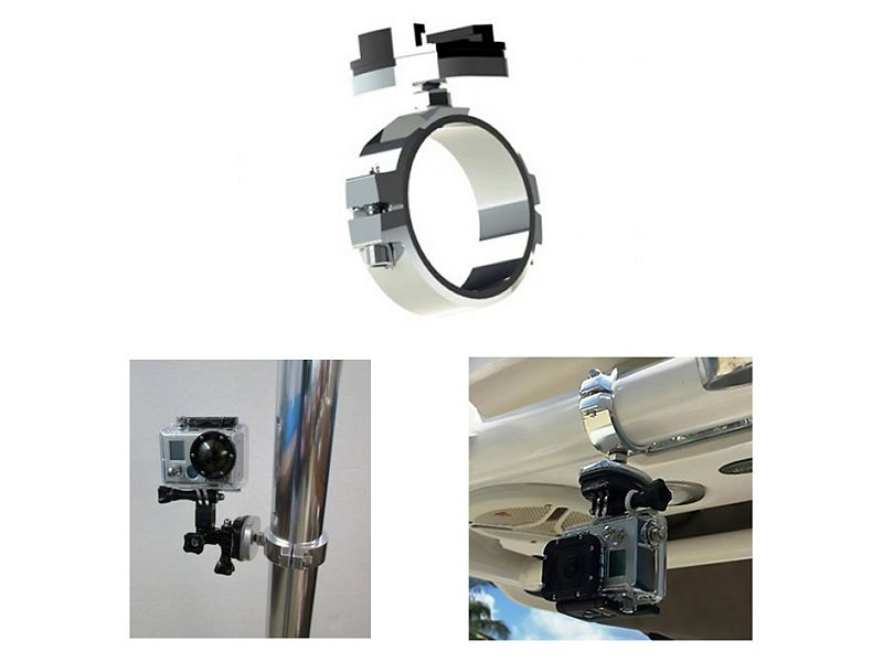 Rupp Marine GoPro Clamps