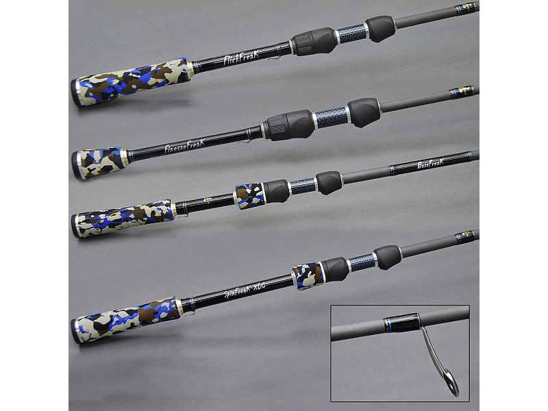 Ian Miller U.S. Bass Spinning Rods