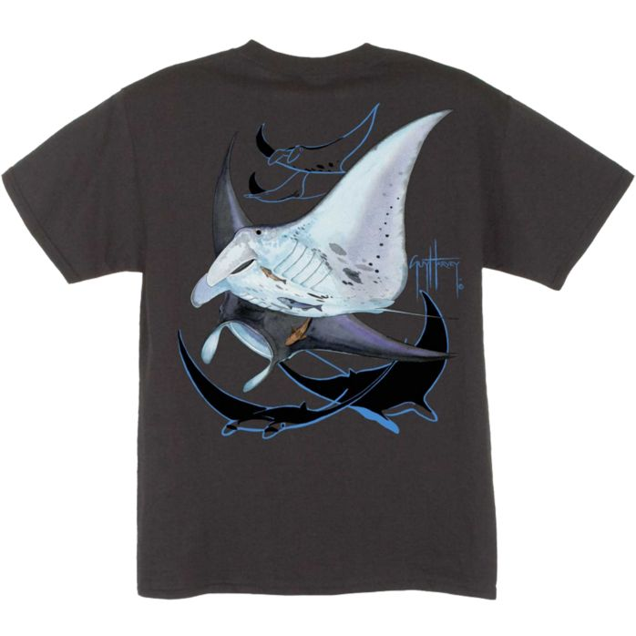 Guy Harvey Manta Ray Youth T-Shirt