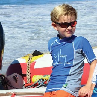 Guy Harvey Fish Trail Boys Rash Guard