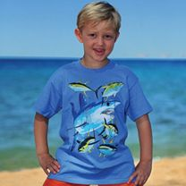 Guy Harvey Mako Shark Youth T-Shirt