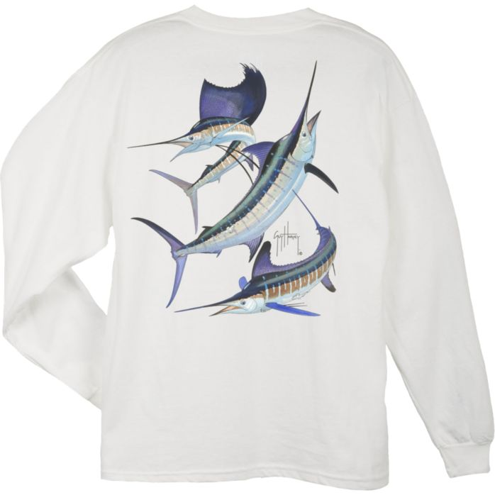 Guy Harvey Grand Slam Long Sleeve Shirt