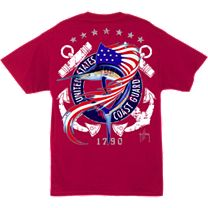 Guy Harvey United States Coast Guard T-Shirt