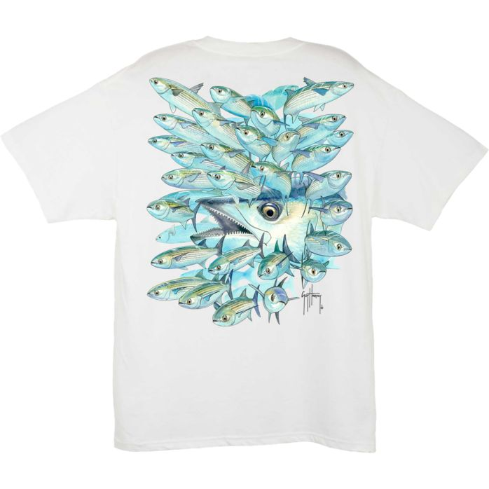 Guy Harvey Mullet Run Kingfish T-Shirt