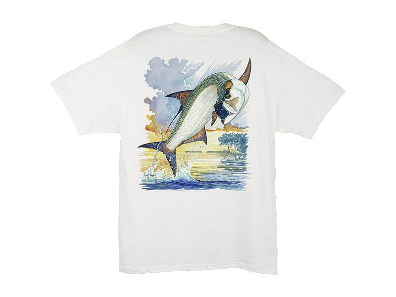 Guy Harvey Jumping Tarpon T-Shirt