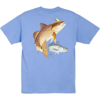 Guy Harvey Redfish Seatrout Youth T-Shirt