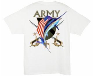 Guy Harvey United States Army Crest T-Shirt