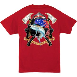 Guy Harvey Fire Department T-Shirt