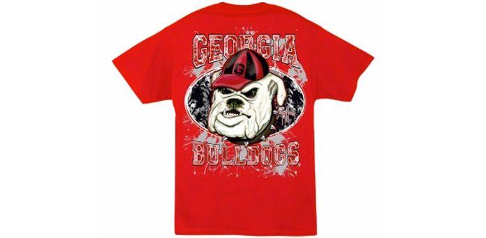 Guy Harvey University of Georgia Collegiate T-Shirt