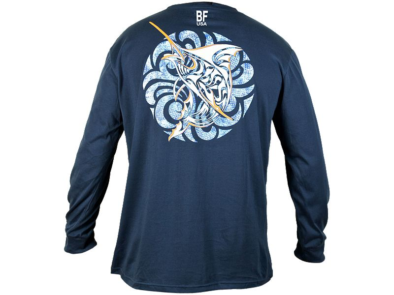 Bluefin Marlin Medallion Long Sleeve Shirt
