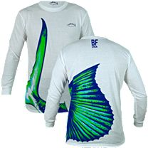 Bluefin Sailfish Tail Long Sleeve Shirt