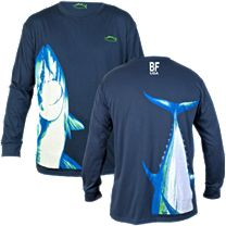 Bluefin Stand Up Tuna Long Sleeve Shirt