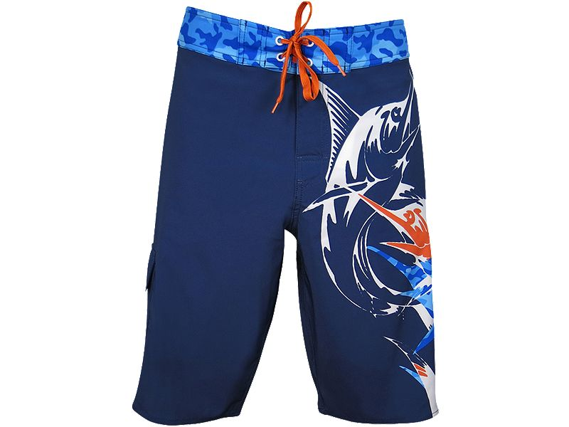 Bluefin Billfish Camo Boardshort
