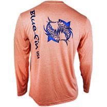 Bluefin Two Tuna Technical Long Sleeve Shirt