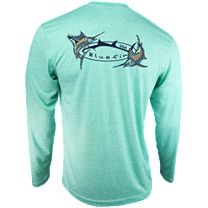 Bluefin Two Billfish Technical Long Sleeve Shirt