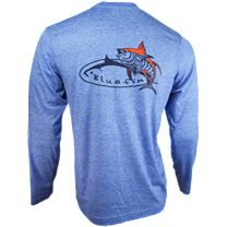 Bluefin Tribal Tuna Tech Long Sleeve Shirt