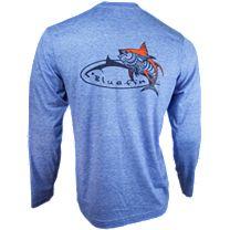 Bluefin Tribal Tuna Tech Long Sleeve Shirt