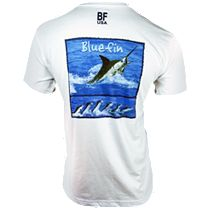 Bluefin Marlin Film PolyCotton T-Shirt