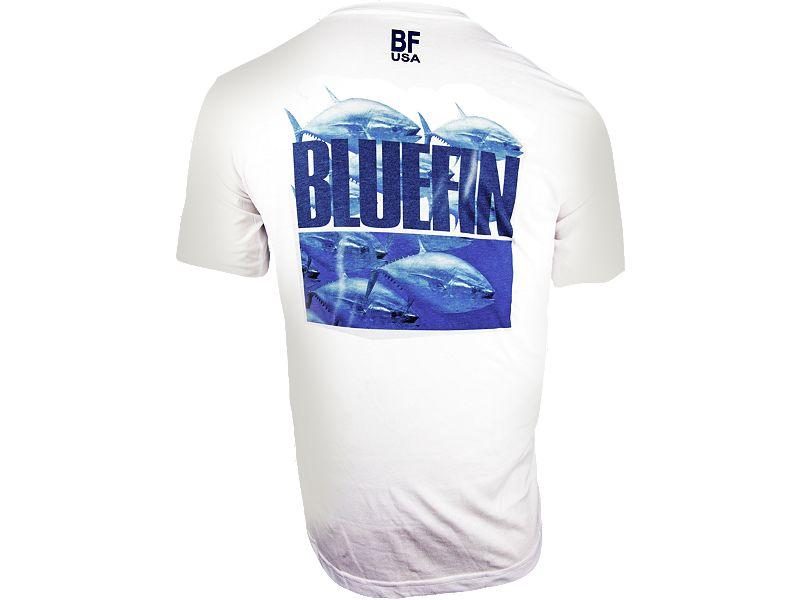 Bluefin Tuna Stampede PolyCotton T-Shirt