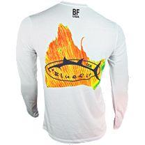 Bluefin Solar Sailfish Tail Long Sleeve Shirt