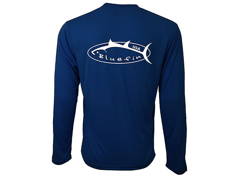 Bluefin Technical Tee Logo Long Sleeve Shirt