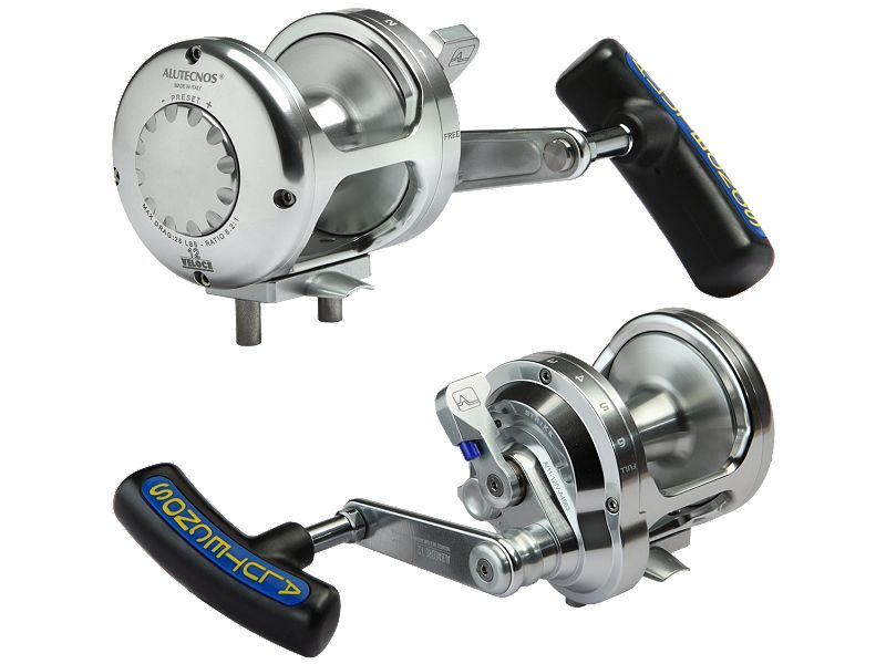 Alutecnos Albacore Veloce Single Speed Reels