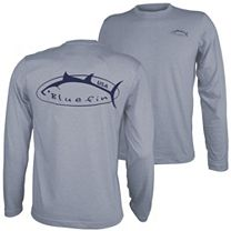 Bluefin Technical Tee Logo Long Sleeve Shirt