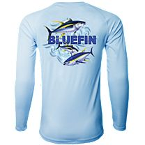 Bluefin Second Skin 3 Tunas Rashguard